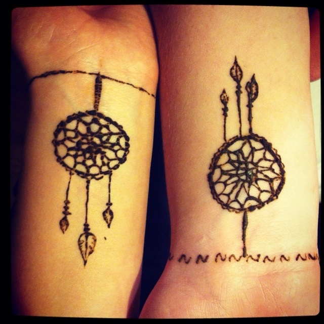 Dreamcatcher Tattoo  Tattoos  Pinterest  Friendship