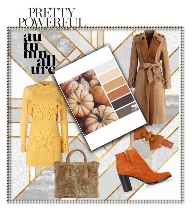 kolory jesieni by aannaadamkiewicz on Polyvore featuring moda, N°21, Chicwish, Chloé, Ralph Lauren and Niels Peeraer