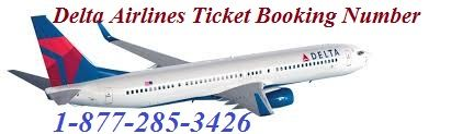 Delta Airlines Ticket Booking Phone Number 1-877-285-3426: Avoid the Fuss of Booking Delta Airlines has introduced the system of online booking, through which a passenger can get the ticket booked easily within no time. Now booking a seat is no longer an issue when a passenger decides to travel on Delta Airlines. Then You can dial Delta Airlines Ticket Booking Phone Number  +1-877-285-3426 Visit here…