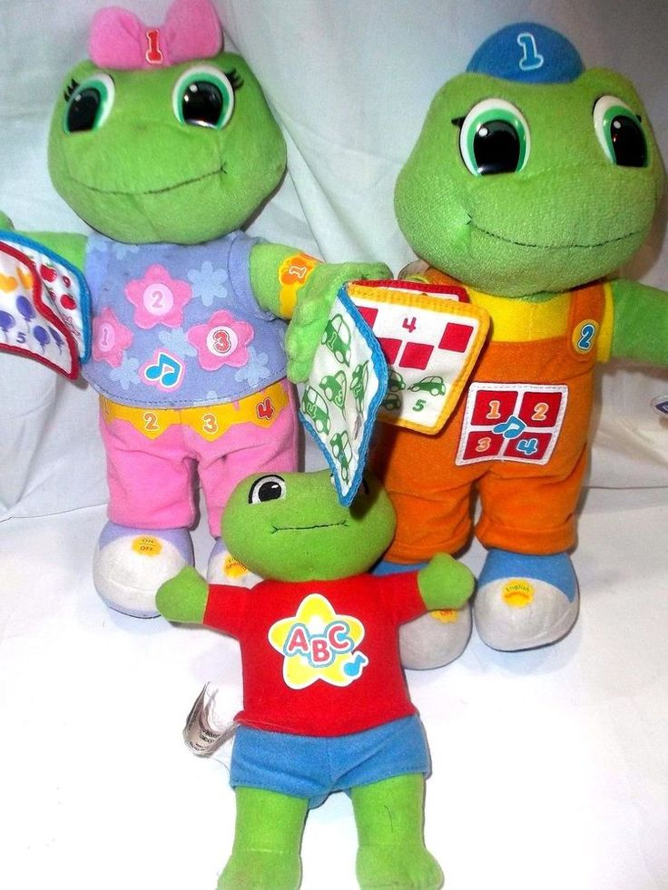 Leapfrog Learning Friend Tad Lily And Baby Tad English