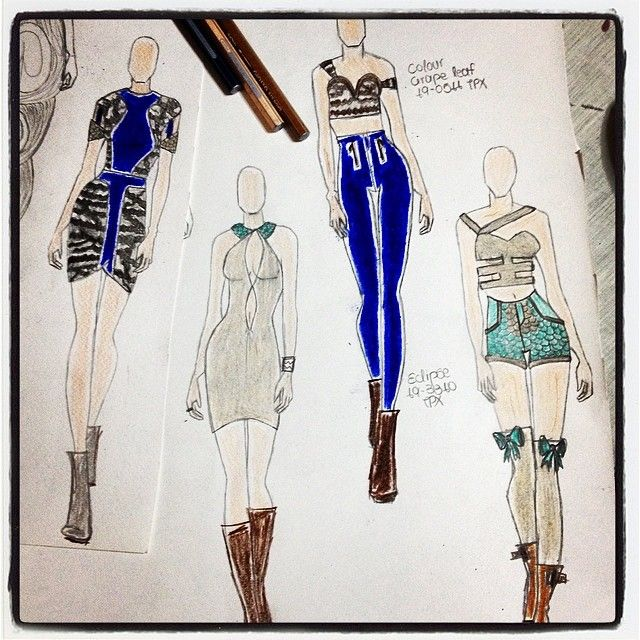 New Collection,almost done(autumn/winter 2015-2016)inspiration from trends-Peacock!!!!!
