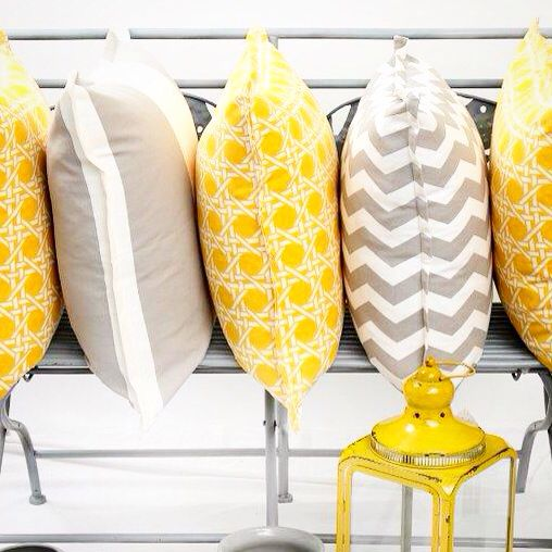 """Yellow and Grey Colour combination is a """"Cool"""" trend for this season, from my latest range..."""