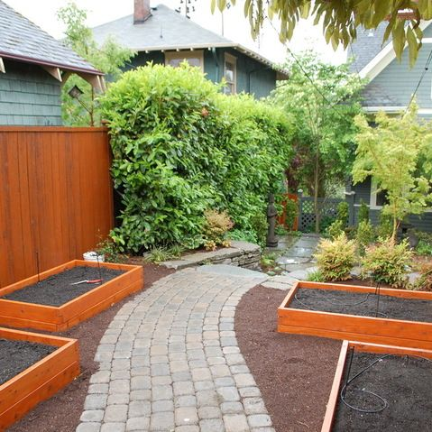 Emphasis On Garden Beds