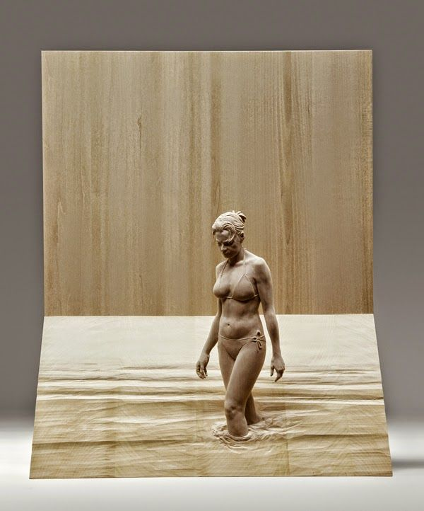 Peter+Demetz+Tutt'Art@+(15).jpg 600 × 722 pixels Mar 6, 2015 - Italian artist Peter Demetz has a gift for breathing life into wood, a material that seems hard and lifeless to most of us. His wooden sculptures of