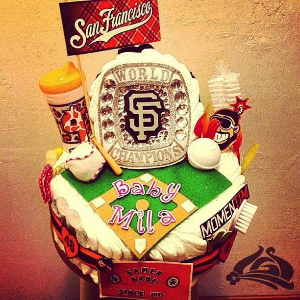 24 Best Images About San Francisco Giants Baby Shower On