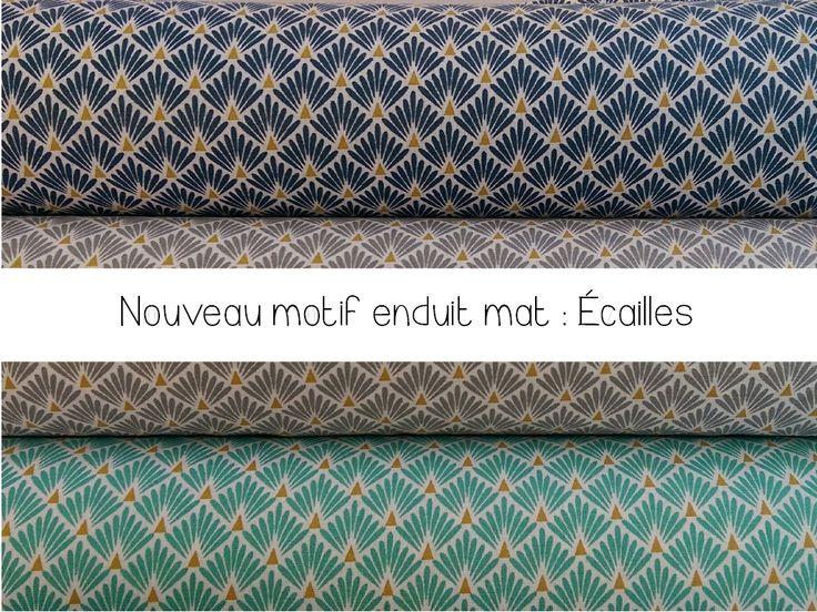 Le plus grand choix de Cotons enduits, lin enduits, toiles enduites pour nappes ou couture créative !
