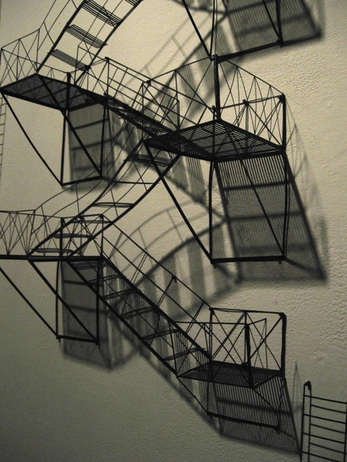 Tiny Paper Fire Escape - Jen Spinner.