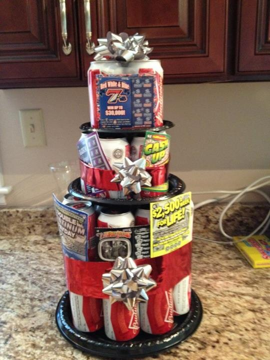 Awesome beer cake!