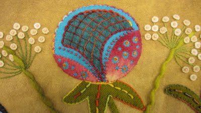 Queen Anne's Lace Sue Spargo  Quilt Embroidery ROCKSTAR!!!!!!