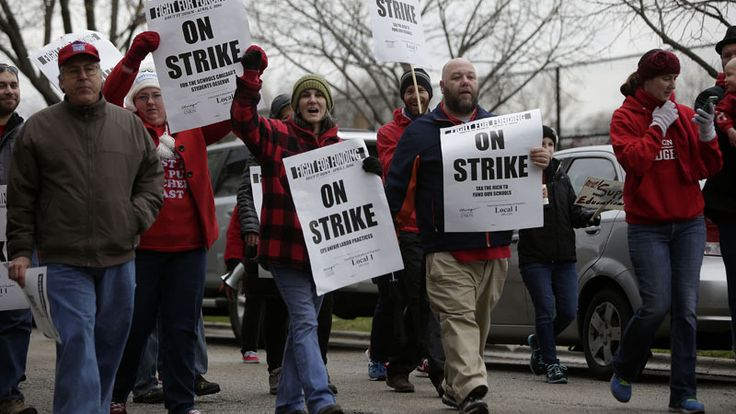 Chicago Public Schools teachers have voted overwhelmingly to approve a strike, and could walk off the job as early as Oct. 11, the Chicago Teachers Union announced Monday.