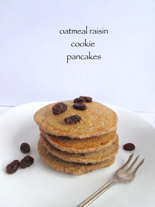 raisin pancakes cookie pancakes pancakes vegan waffles pancakes ...