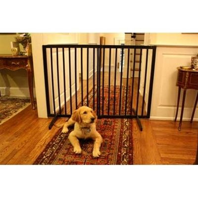 Tall Freestanding Dog Gate | Sevenstonesinc.com