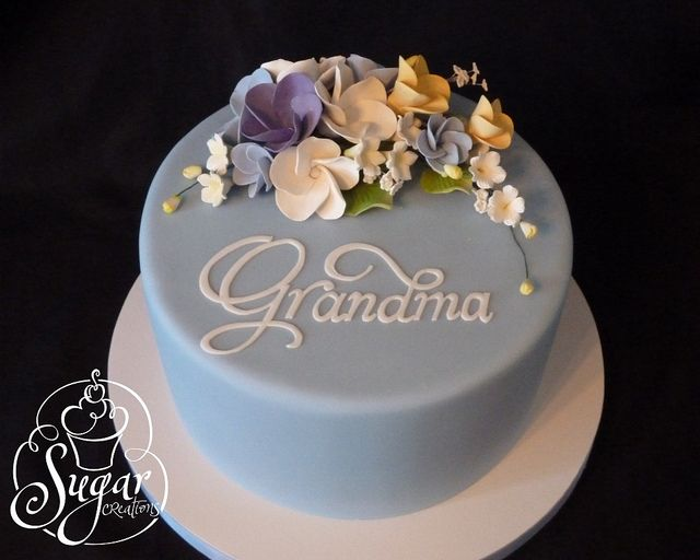 Cake Design For Grandma : Grandma s birthday cake Flickr - Fotosharing! backen ...