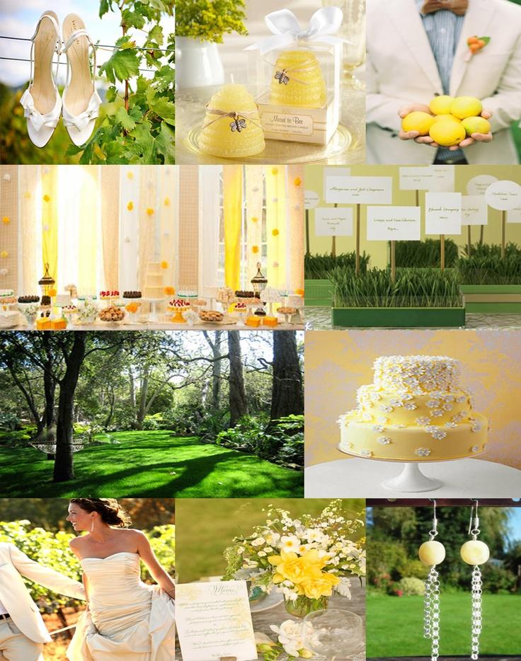 Lemon and lime wedding inspiration