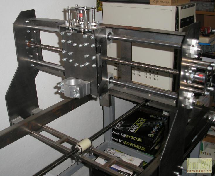 РадиоКот :: Проект ЧПУ станка – «Dexter». Глава первая – механика.