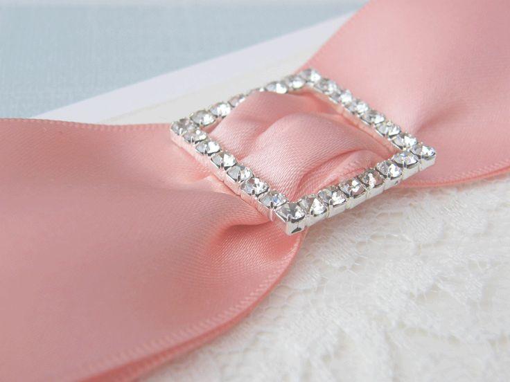 Mini Square Diamante Buckle