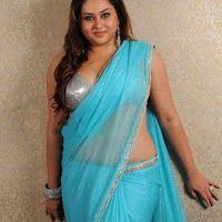 Namitha Hot Stills in Saree