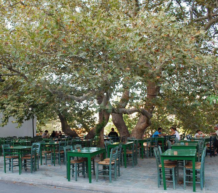 Kythira, Platane