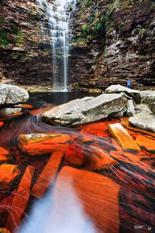 Cachoeira da Roncadeira - Chapada Diamantina, Bahia
