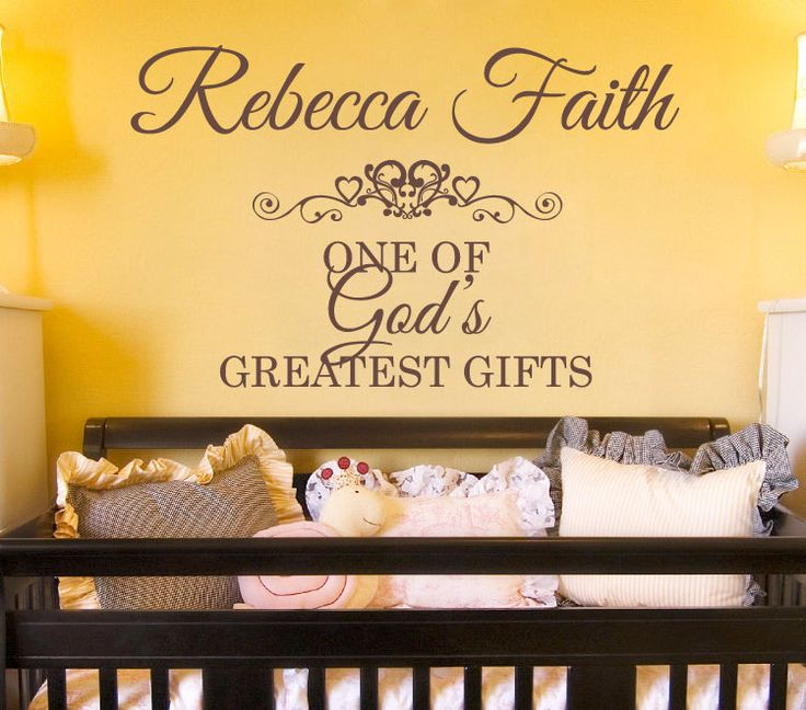 33 best Girls Name Wall Decals images on Pinterest | Kids room, Kids ...