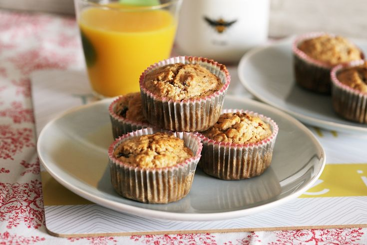 Egyetek gyümölcsös zabmuffint reggelire!