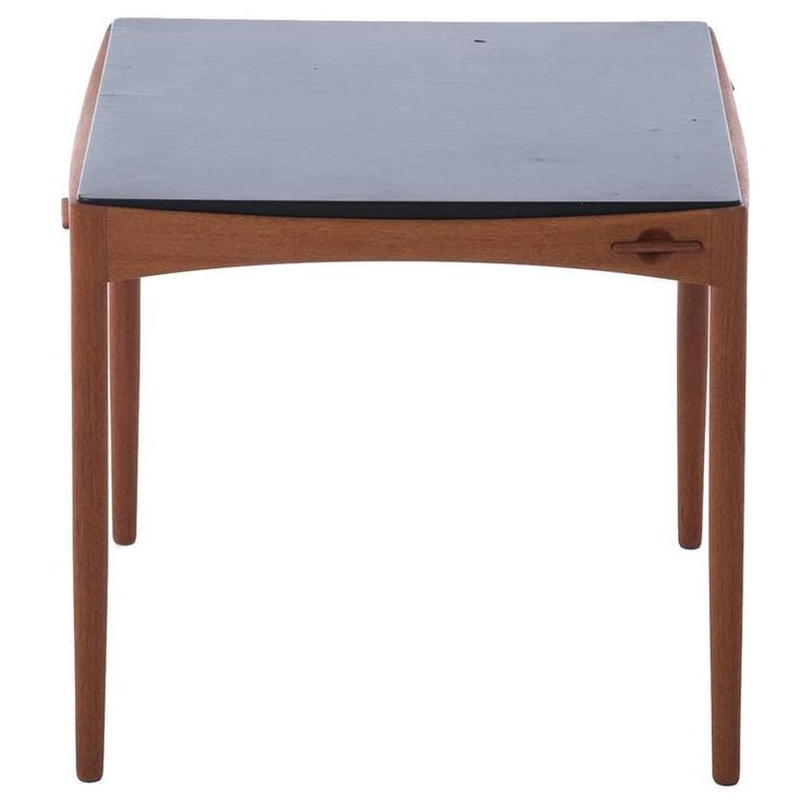 Danish Modern Game Table | From a unique collection of antique and modern game tables at https://www.1stdibs.com/furniture/tables/game-tables/