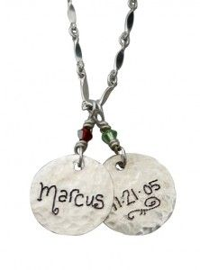 1000 images about mothers necklace with kids names on for Same day jewelry repair