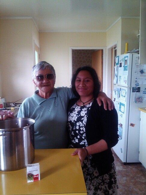 Aunty Mahia and Dreya