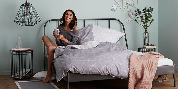 Super comfy, high-quality and eco-friendly bedding that will guarantee sweet dreams not at Tchibo.de