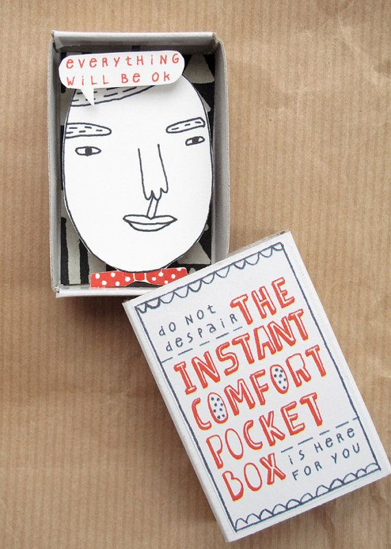 The Instant Comfort Pocket Box - professor - Oh I like these kind of boxes a lot / By Kim Welling.