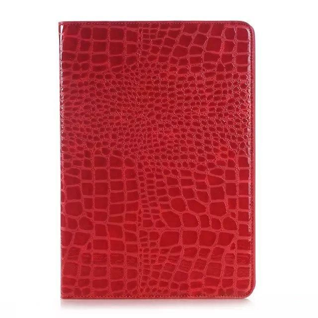 Luxury Crocodile Pattern Leather Case for Samsung Galaxy Tab A 9.7 T550 T555 case for Samsung Tab A P550 P555 + Stylus + Film)