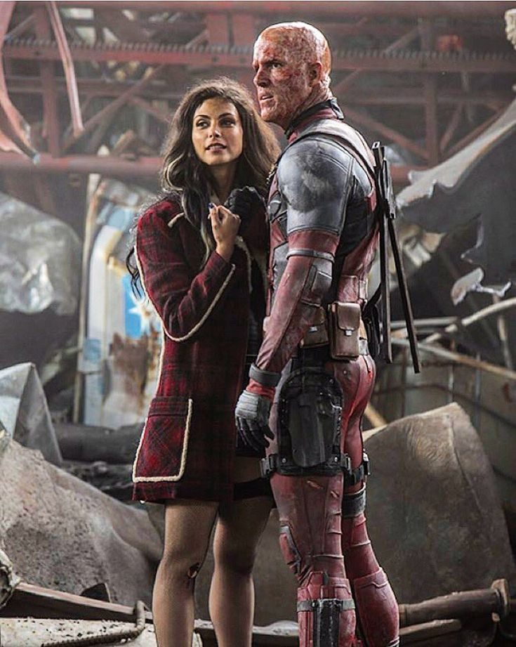 DEADPOOL Gets A 15 Rating In The UK; Plus New Image With 'Vanessa Carlyle' And A Mask-Less 'Wade Wilson'
