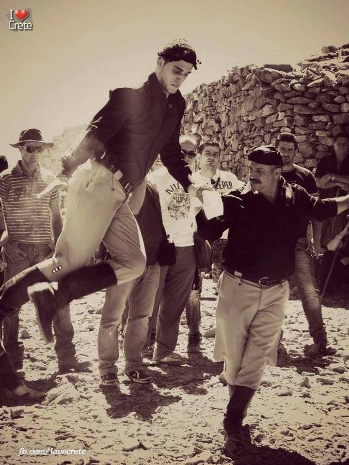 Cretan dance.
