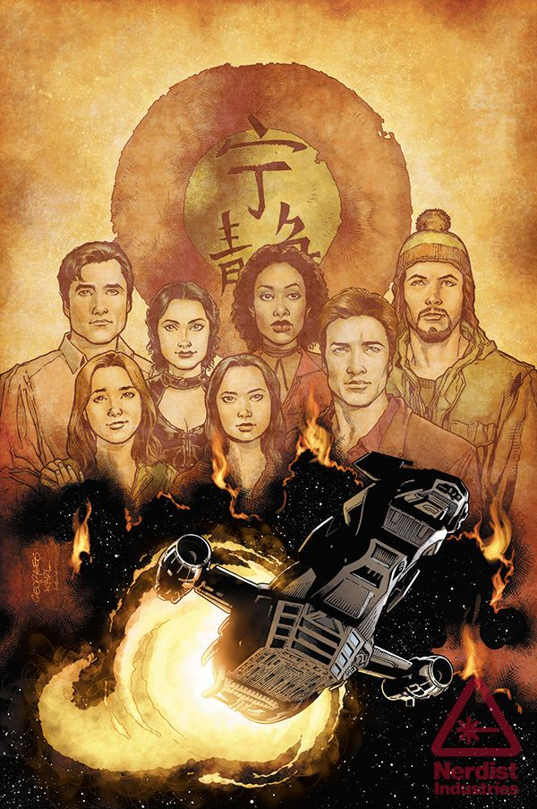 Serenity: Leaves on the Wind Graphic Novel coming January 29, 2014. Cover by Georges Jeanty, Karl Story and Laura Martin. #Firefly