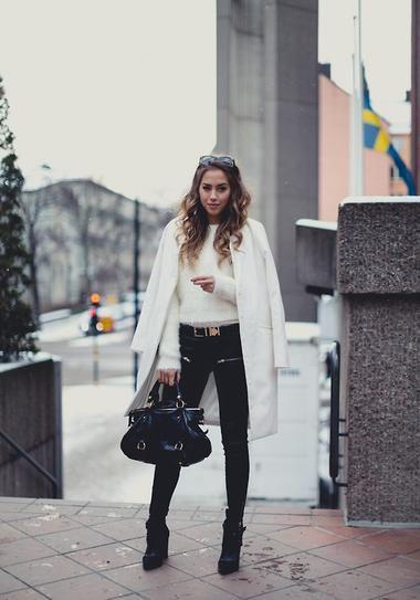 Trending for Fall 2014: The white coat.