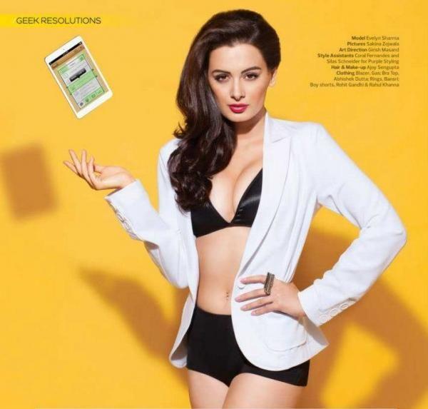 Evelyn Sharma - Hot Bikini Stills