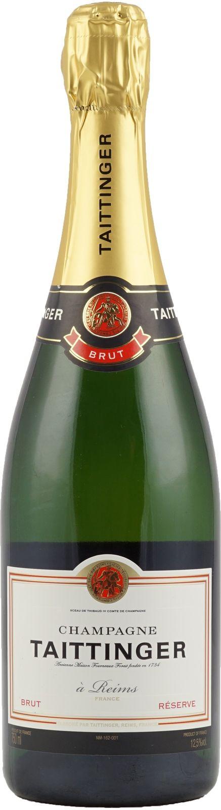 Bestellen Sie sich den Taittinger Brut Reserve Champagner hier bei uns im Onlineshop. Brut Reserve Champagner aus dem Hause Taittinger zum sehr kleinen Preis.