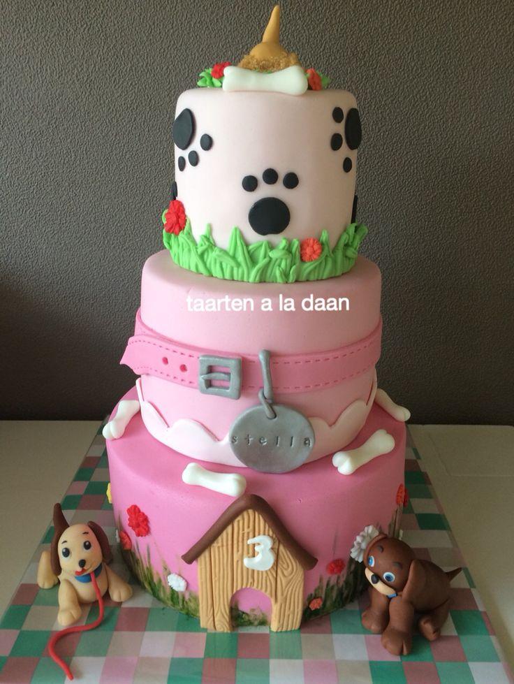 Honden taart Dog cake