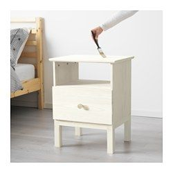 IKEA - TARVA, Bedside table, , Made of solid wood, which is a hardwearing and…