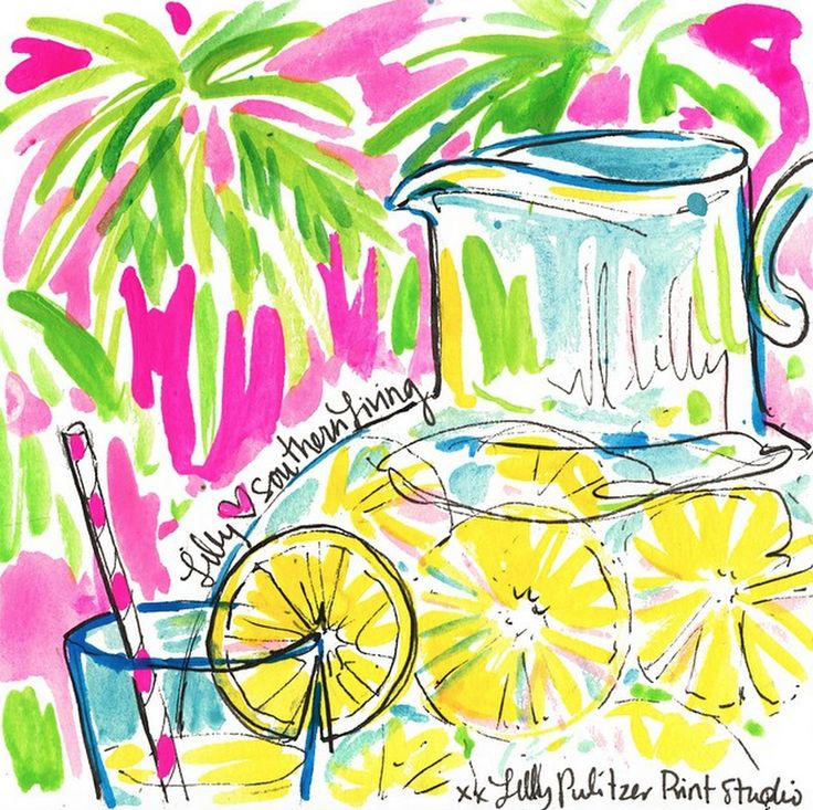 Via @SouthernLivingMag Instagram- Lilly Pulitzer National Wear Your Lilly Day #SummerinLilly