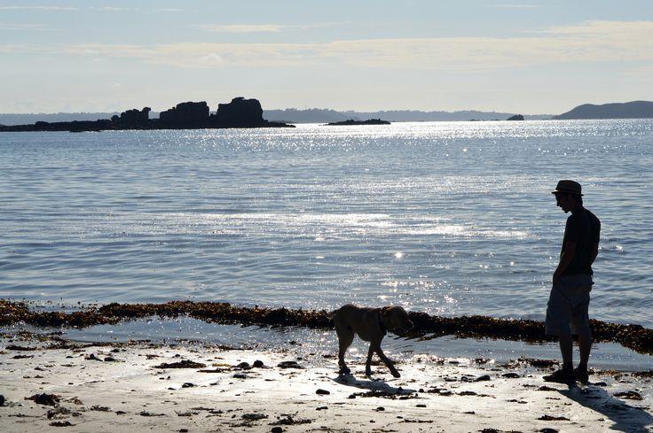 Man & Dog - Trestel, Bretagne (France) by Deborah Cr on 500px