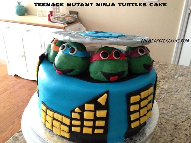 Fondant Turtle Cake