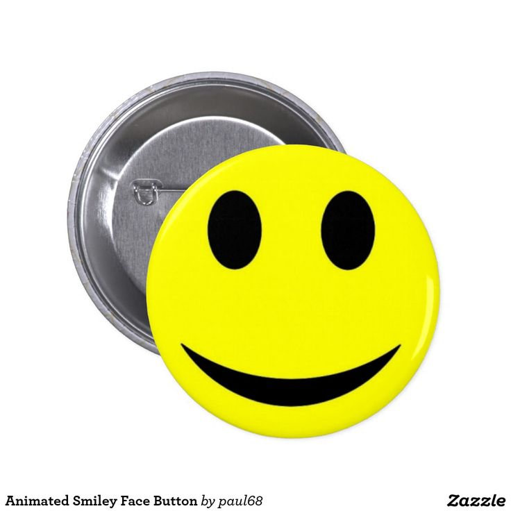 Animated Smiley Face Button