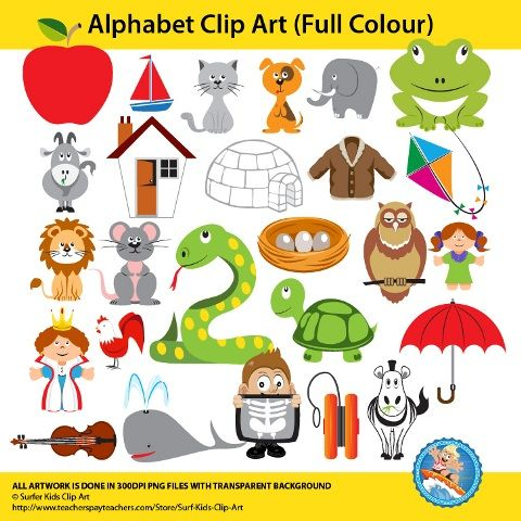 Graphics/illustrations, clipart for each letter in the alphabet in png format with transparent background. This set is supplied in both colour and black and white line sketches.  Apple, boat, cat, dog, elephant, frog, goat, house, igloo, jacket, kite, lion, mouse, nest, owl, puppet, queen, rooster, snake, tortoise, umbrella, violin, whale, x-ray, yo-yo, zebra.