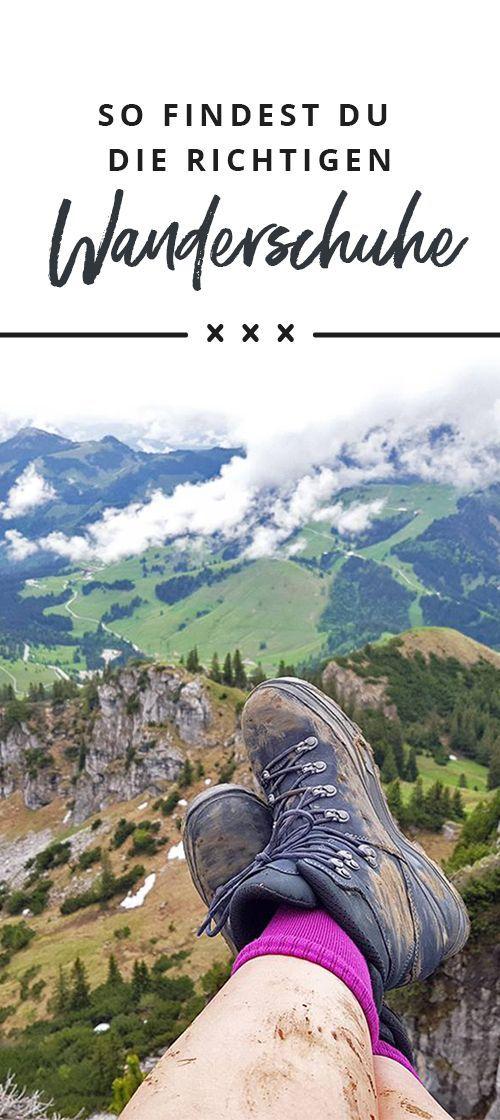 Tipps für den Wanderschuhkauf