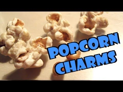 Realistic Polymer Clay Popcorn Charms - Tutorial - YouTube