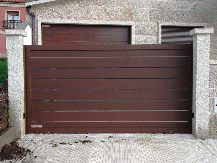 M s de 1000 im genes sobre portales y cancelas de aluminio - Portales de madera ...