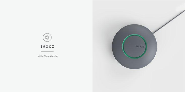 Snooz White Noise Machine on Behance
