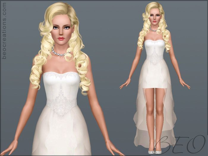 Sims 3 red dress homecoming