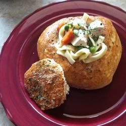 Italian Bread Bowls -  My dream soup container!!!!